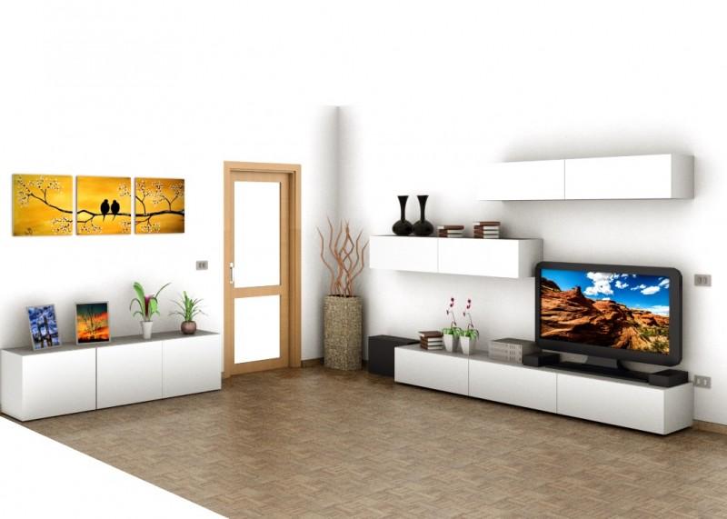 arredamenti graziadei | sarnonico | val di non | trentino alto adige - Soggiorno Living Progetto 2